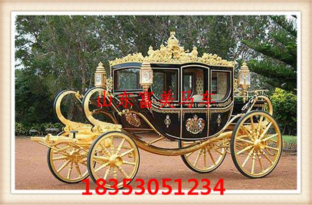 中式古典马车,欧式皇家马车,婚礼马车,婚庆马车,欧式南瓜车,假马,雕塑